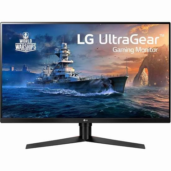 补货!LG 32GK650F-B 32英寸 2K超高清 144Hz 游戏显示器 399.99加元包邮!