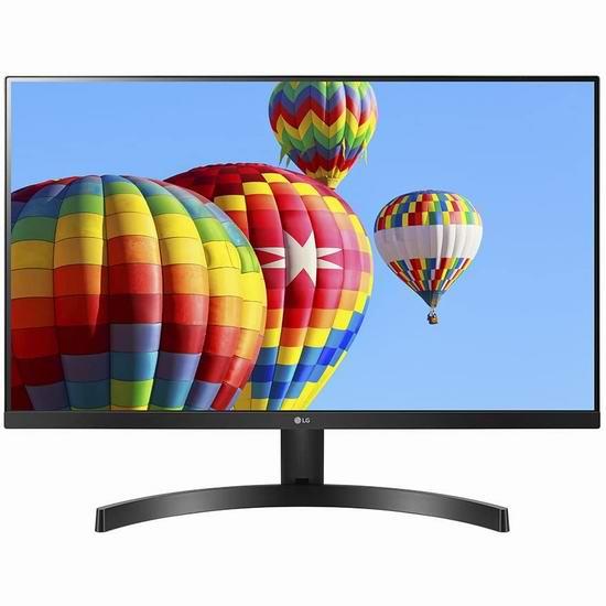 历史最低价!LG 27MK600M-B 27英寸 全高清 FreeSync 三面微边框 IPS显示器 199.9加元包邮!