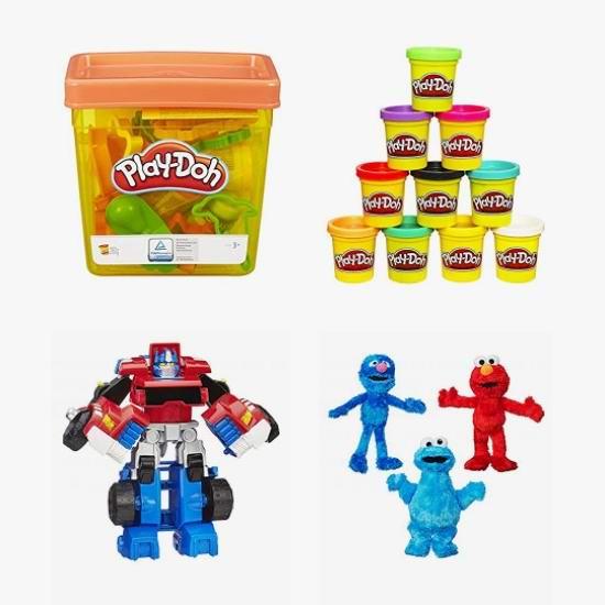 金盒头条:精选 Play-Doh 培乐多 橡皮彩泥、Hasbro 孩之宝 人偶玩具等7折起!
