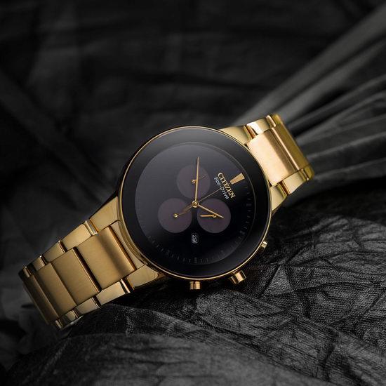 历史新低!Citizen 西铁城 AT2242-55E 光动能黑色腕表/手表4折 158.28加元包邮!