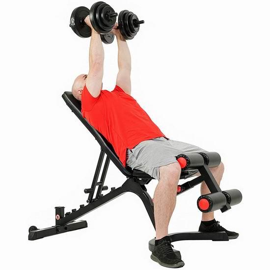 历史最低价!Sunny Health & Fitness SF-BH6920 多功能家用健身凳5折 193.52加元包邮!