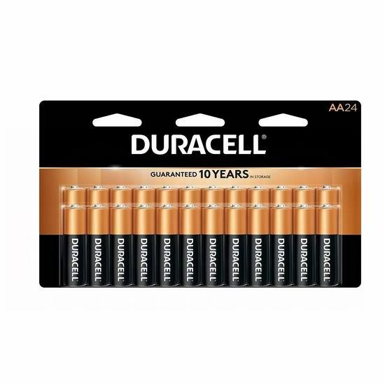 Duracell 金霸王 AA Alkaline 碱性电池20件套3.5折 6.99加元包邮!仅限今日!