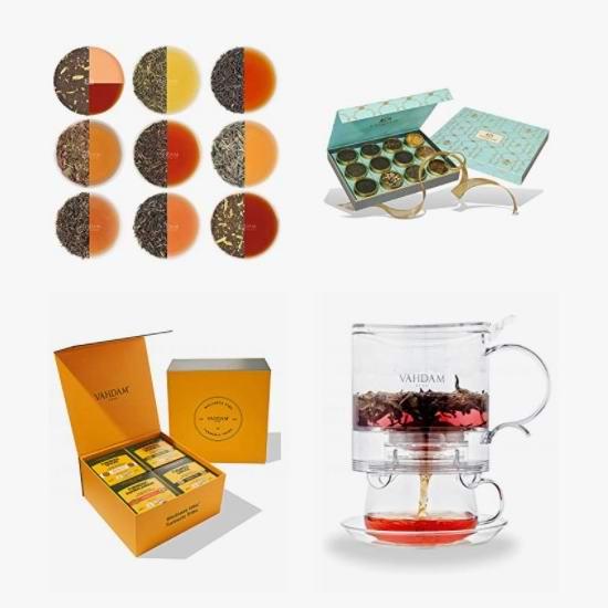 金盒头条:精选多款 Vahdam 茶叶礼盒装、茶具等6折起!