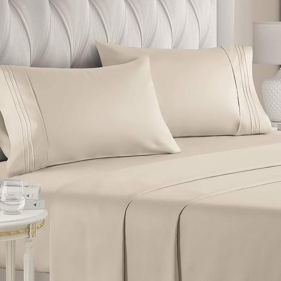 金盒头条:精选多款 CGK Unlimited 床单套装、床套、枕套等床上用品7.2折起,低至19.99加元!