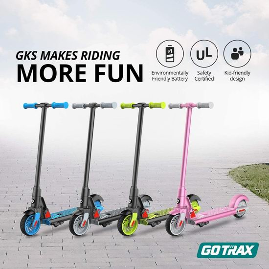 GOTRAX GKS 25.2V 儿童电动滑板车 174.99加元包邮!3色可选!