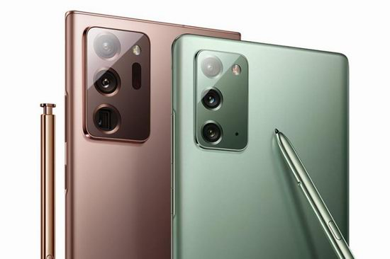 Samsung 三星 Galaxy Note20 / 20 Ultra 5G 高端旗舰 智能手机 1139.98-1599.98加元包邮!3色可选!