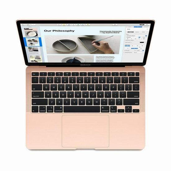 拼手速!2020版 Apple MacBook Air 13英寸 笔记本电脑(8GB/256GB)6折 787.48-862.48加元包邮!英法语两款可选!