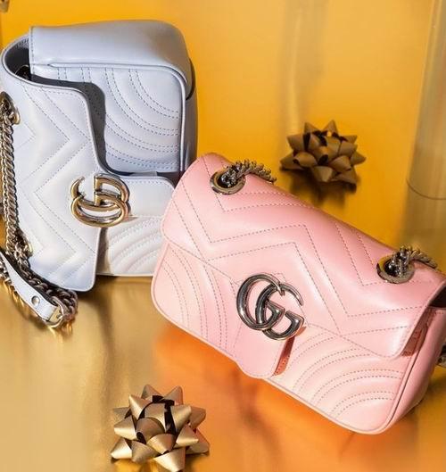 Gucci 超迷你 双G Marmont 链条包 1015加元,官网价 1235加元