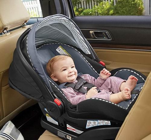 史低价!Graco 葛莱 SnugRide SnugLock 35 婴儿汽车安全提篮 5.7折 159.99加元,原价 279.99加元,包邮