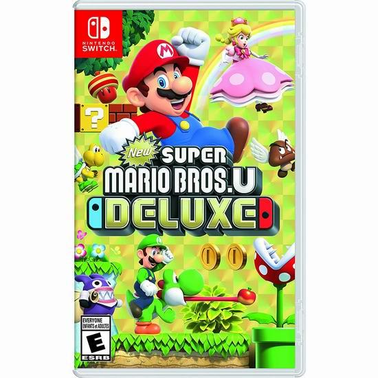 精选多款 Nintendo 任天堂 Switch版 Super Mario 超级马力欧系列游戏7.5折 59.95加元包邮!