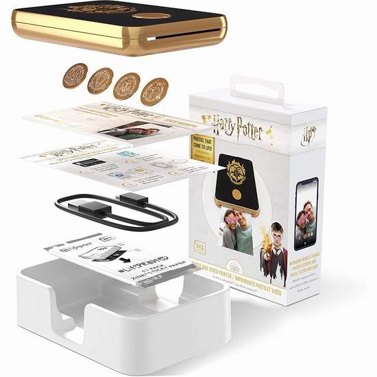 历史新低!Lifeprint Harry Potter 哈利波特定制款 增强现实 视频/照片 魔法打印机4折 69.99加元包邮!2色可选!新春好礼!