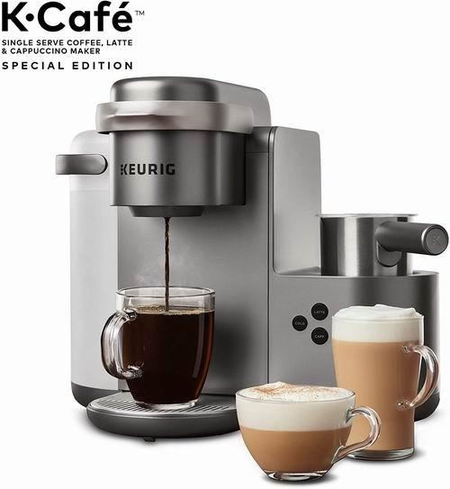 Keurig K-Cafe 咖啡机 198.99加元,原价 265.6加元,包邮