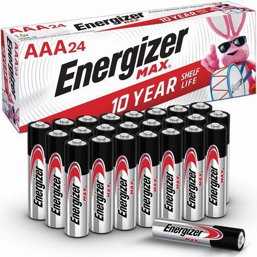 Energizer 劲量 Max AA 高能碱性电池 7.5折 11.97加元,原价 15.95加元