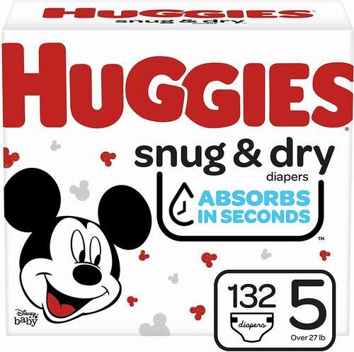 仅限今日!HUGGIES 婴幼儿纸尿裤 19.43加元,原价 32.74加元