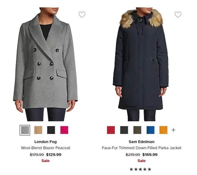 精选 Tommy Hilfiger、Calvin Klein、Michael Kors等品牌羽绒服 4折起优惠!CK防寒服99加元