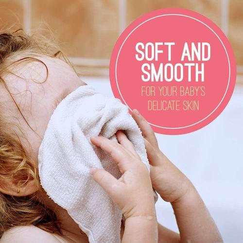 Kushies婴儿柔软棉质毛巾 6件套 4.79加元,原价 5.99加元