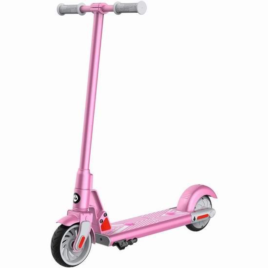 GOTRAX GKS 25.2V 儿童电动滑板车 166.99加元包邮!2色可选!