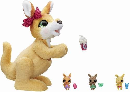 近史低价!Hasbro furReal Mama Josie 袋鼠互动宠物玩具6.5折 58.77加元包邮!
