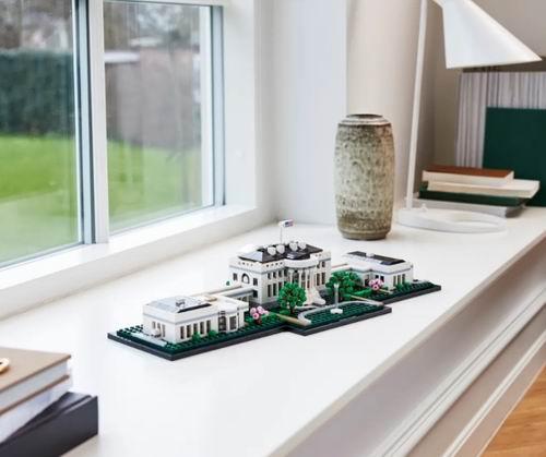 """LEGO 乐高 建筑系列 21054 白宫 149.9加元, """"入住白宫""""不是梦"""
