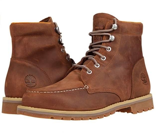 Timberland男士经典时尚短靴 90加元+包邮!