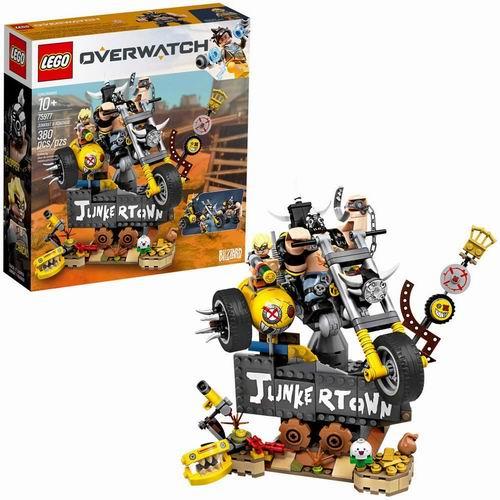 LEGO 乐高 75977 守望先锋系列 狂鼠与路霸 7折 34.88加元,原价 49.99加元,包邮