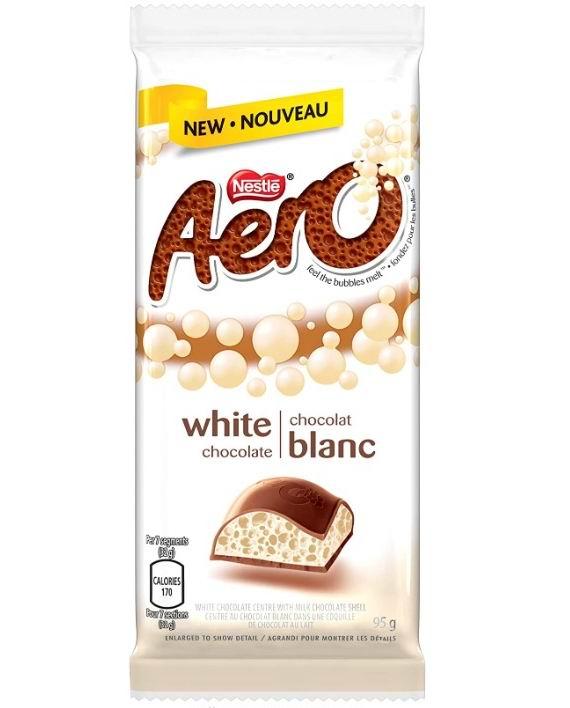 Nestle AERO 牛奶白巧克力 1.98加元