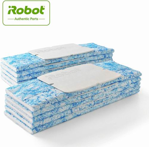 iRobot Braava Jet 240 拖地机器人清洁布10片 11.99加元