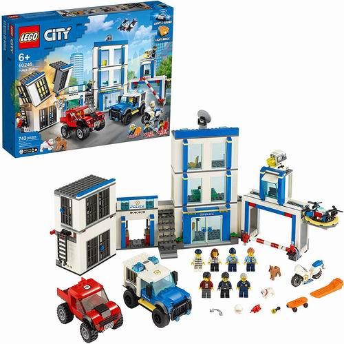 LEGO乐高 城市系列 60246 城市警局 114.5加元,原价 139.99加元,包邮