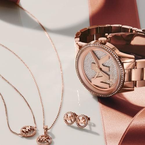 情人节好礼!MK精选手链、项链、耳环、手套、钱包 、太阳镜4折起+包邮!十二星座吊饰39加元!