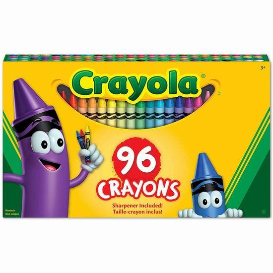 Crayola 彩色蜡笔96支装 3.97加元!