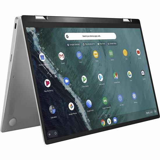 历史新低!ASUS 华硕 Chromebook Flip C434TA-DSM4T 14英寸超轻薄 触控屏笔记本电脑(4GB/64GB)5.1折 357.99加元包邮!