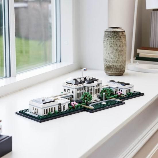 历史新低!LEGO 乐高 21054 建筑系列 美国白宫(1483pcs) 135.13加元包邮!