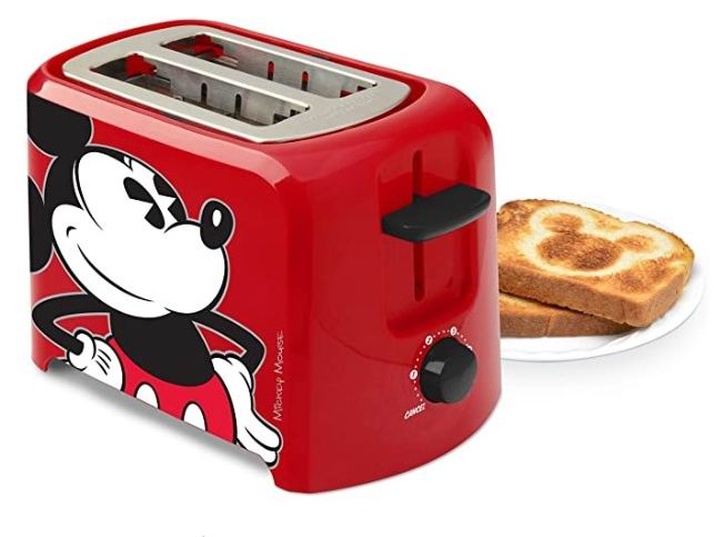 Disney DCM-21 烤面包机2片 27.97加元