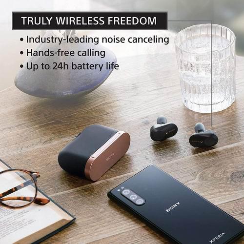 历史最低价!Sony 索尼 WF-1000XM3 真无线 降噪耳塞6.6折 198加元包邮!2色可选!
