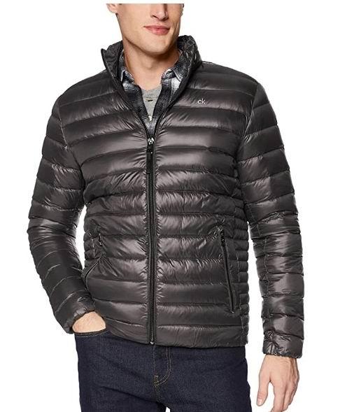 Calvin Klein Packable 男士短款羽绒服 79.45加元(S码)+包邮!