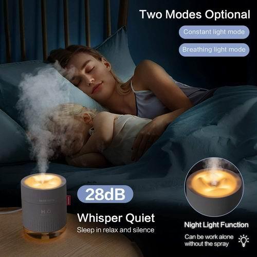 SmartDevil 带夜灯 便携式迷你加湿器  500毫升 23.89加元,原价 32.99加元