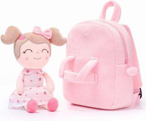 Gloveleya 超萌超可爱卡通造型 毛绒儿童双肩包 19.54加元起,多款可选!