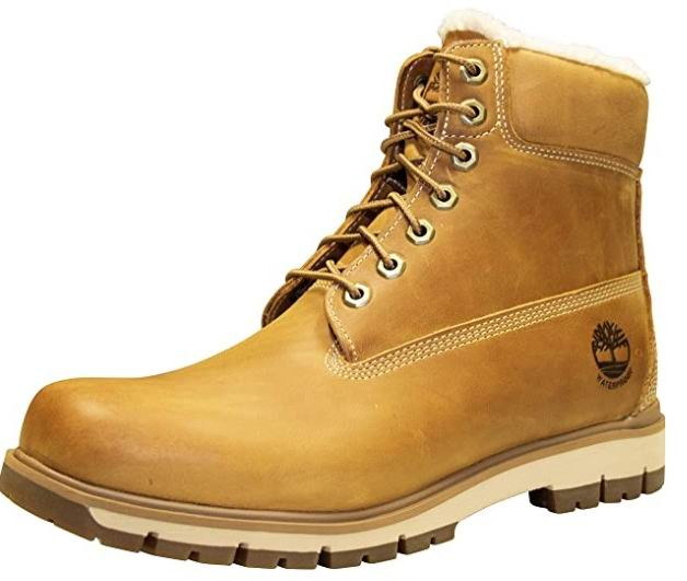 Timberland 男士经典黄靴(11-13码) 95加元包邮!