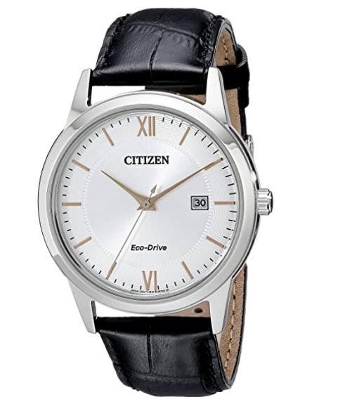 历史最低价!Citizen  AW1236-03A 男士腕表 83.78加元,原价 164.5加元,包邮