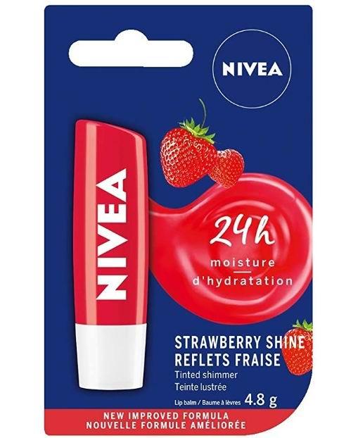 NIVEA 草莓光泽唇膏 1.24加元,原价 2.39加元
