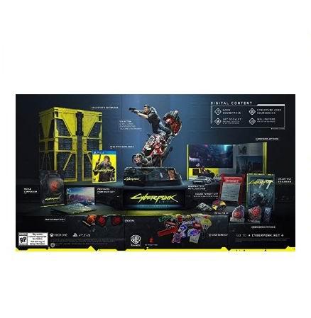 《Cyberpunk 2077:赛博朋克 2077》收藏版游戏 PS4 / Xbox  售价 324加元