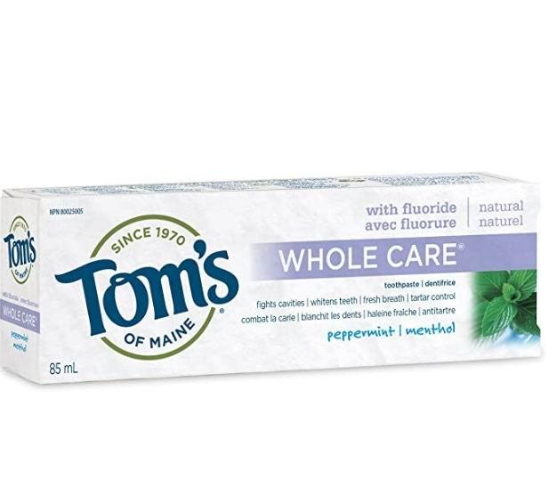 Tom's of Maine 天然含氟薄荷味牙膏 3.79加元