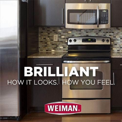 Weiman 不锈钢表面 清洁抛光剂 5.47加元