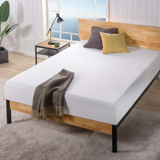 Zinus Ultima 10英寸 Queen 舒适记忆海绵床垫 289.8加元包邮!另有8英寸King床垫254.8加元!