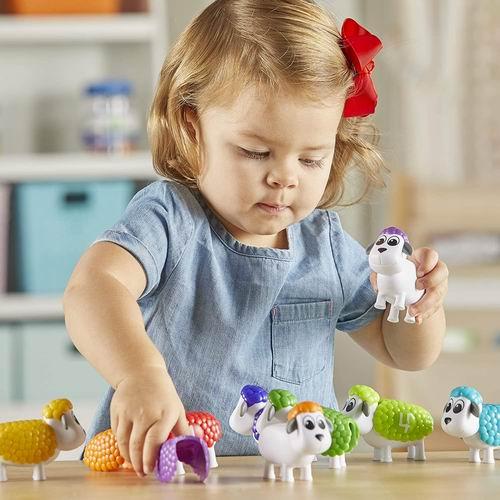 Learning Resources 快速计数小羊 20.13加元,拓展宝宝STEMA的能力