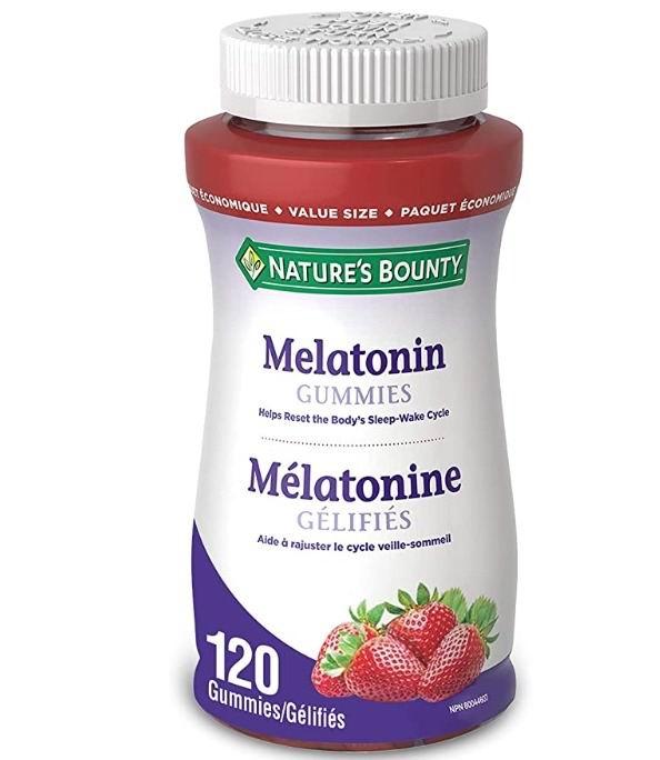 Nature's Bounty  褪黑素软糖 120粒 14.24加元,原价 18.74加元