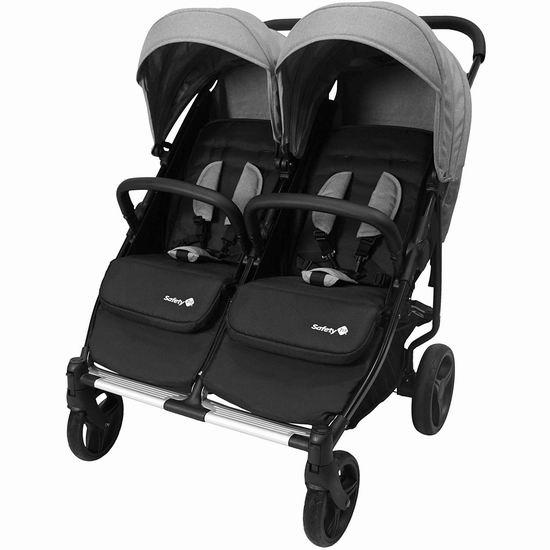 历史新低!Safety 1st Double Double Duo 双人婴儿推车4.2折 212.2加元包邮!