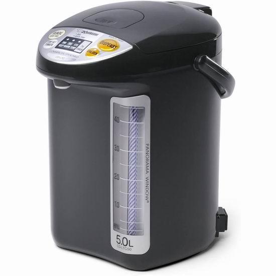 历史新低!ZOJI 象印 CD-LTC50-BA 5升量 智能电热水瓶 189.99加元包邮!
