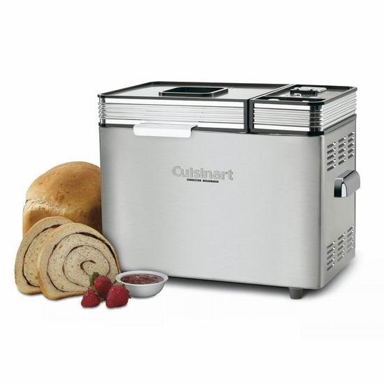 Cuisinart 美膳雅 CBK-200C 微电脑可编程 对流风 全自动面包机 165.59加元包邮!