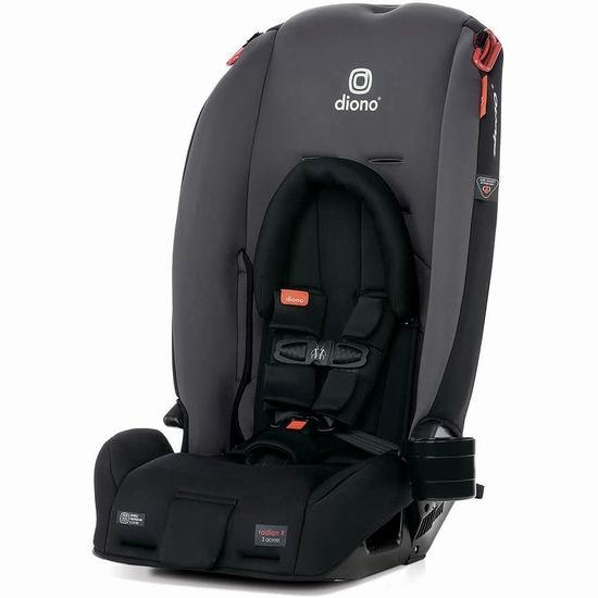 Diono 谛欧诺 Radian 3RX 成长型儿童汽车安全座椅 299.99加元包邮!